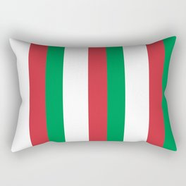 Flag of Italy 3-Italy,Italia,Italian,Latine,Roma,venezia,venice,mediterreanean,Genoa,firenze Rectangular Pillow