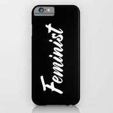 Feminist (on black) iPhone 6 Slim Case