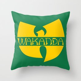 Wa-tang Kanda Throw Pillow
