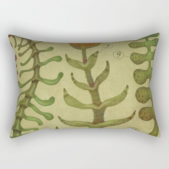 PLANTAE I Rectangular Pillow