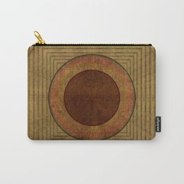 """""""Golden Circle Japanese Vintage"""" Carry-All Pouch"""