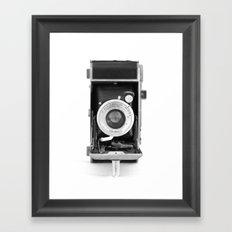 Vintage Camera No. 1 Framed Art Print