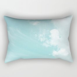 Head in the clouds #buyart #decor #freshair Rectangular Pillow