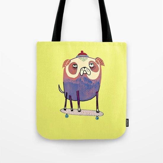 Pug Dude. Tote Bag
