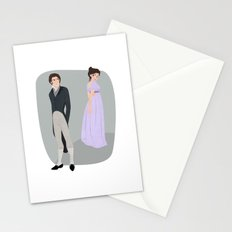 Pride and prejudice | Elizabeth and Darcy Stationery Cards