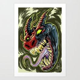 MONSTER demon Art Print