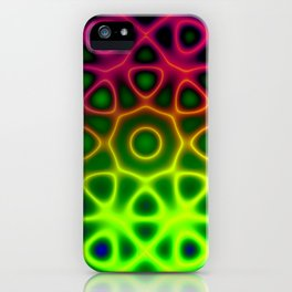 Electric Octagon iPhone Case