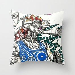 Profile Pic of Sarah Bernhardt Throw Pillow