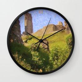 Corfe Castle Wall Clock