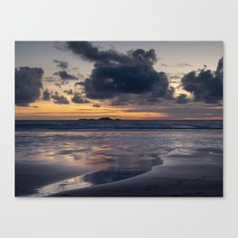 """Penny for your thoughts."" Whitesands Beach, Pembrokeshire Canvas Print"