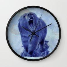 So bear your teeth Wall Clock