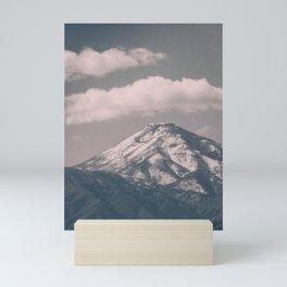Moody Navada Mountain Mini Art Print