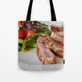 passion for food and eating - fillet of meat Tote Bag