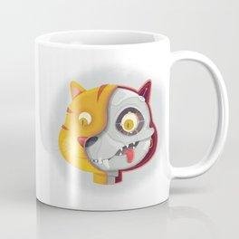 Cyborg cat Coffee Mug