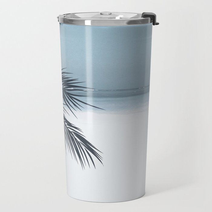 Palm and Ocean Travel Mug
