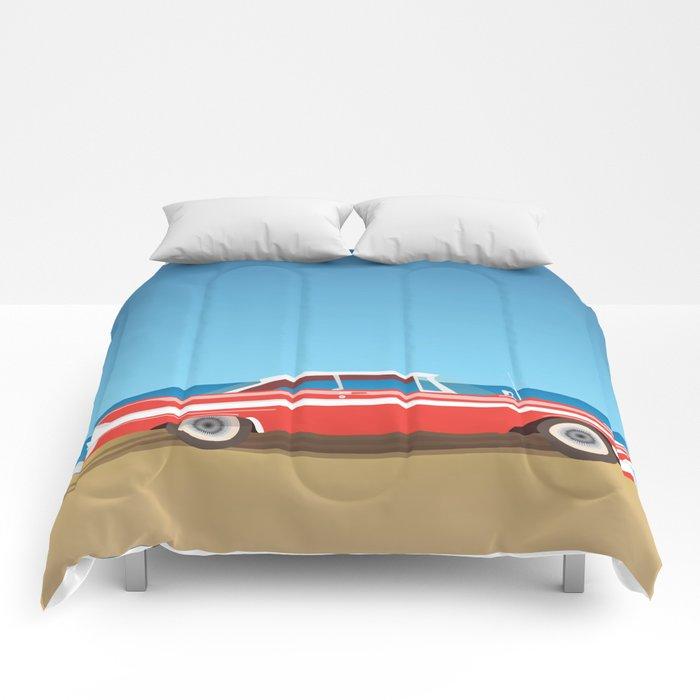 Vintage Car Comforters