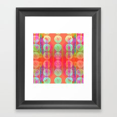 Mod Squad Bloom Framed Art Print