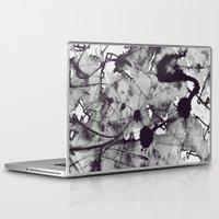 noir Laptop & iPad Skins featuring Noir by deniz ayaz