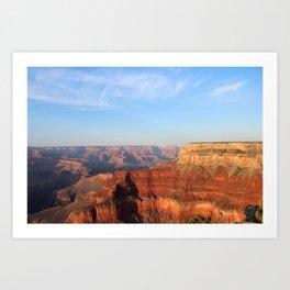 Grand Canyon South Rim at Sunset Art Print