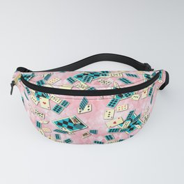 Floating Cards Fanny Pack
