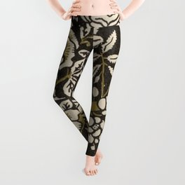 Nouveau Birds And Flowers Leggings
