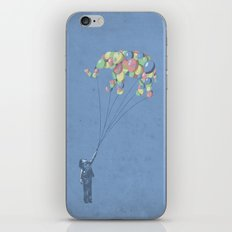 The Lightest Elephant iPhone Skin