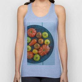 Various heirloom tomatoes Unisex Tank Top
