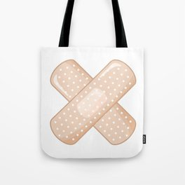 Get Well Bandaid Tote Bag