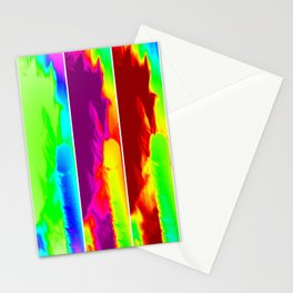 Color Explosion Panel Art Stationery Cards