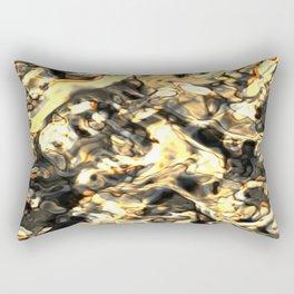 Gold Nugget Rectangular Pillow