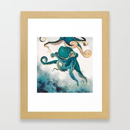 Underwater Dream V Framed Art Print
