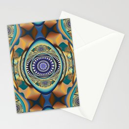 Fall inspired abstract Stationery Cards