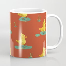 ducks love rain Coffee Mug