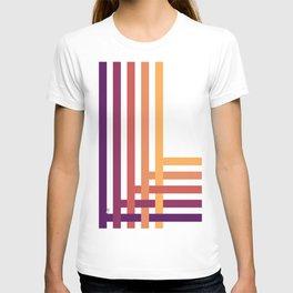 003 OWLY grid T-shirt
