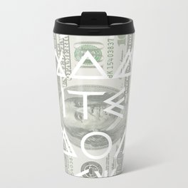 DYNAMITE MONEY Metal Travel Mug