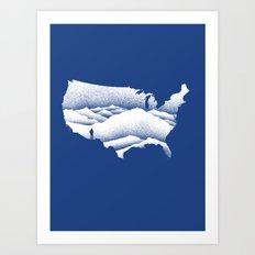 Natural Wonder USA Art Print