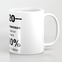 Humourous 2020 Review Rotten Tomatoes Score From World Population Coffee Mug
