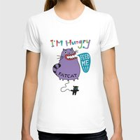 my mad fat diary T-shirts featuring Fat Cat by Andi Bird