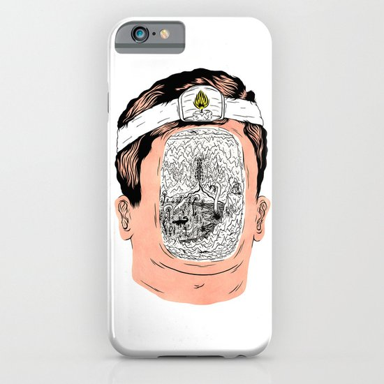 Journey to the center of the earth iPhone & iPod Case