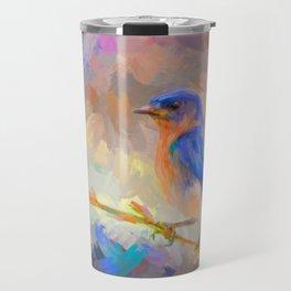 Bring On The Bluebirds Travel Mug