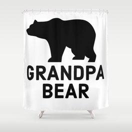 Grandpa Bear Shower Curtain
