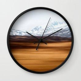 Destination Skye 2 Wall Clock