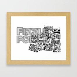 Fizzle Force Photocopy Framed Art Print