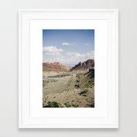 utah Framed Art Prints featuring .utah by Philip Schulte