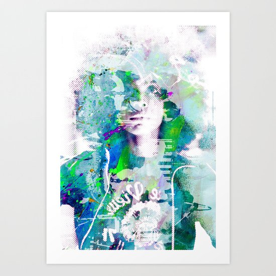 Ode To Badu Art Print