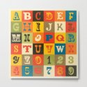 VINTAGE ALPHABET by daisybeatrice
