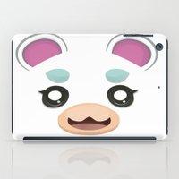 animal crossing iPad Cases featuring Animal Crossing Flurry by ZiggyPasta