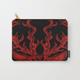 Stag (black background) Carry-All Pouch