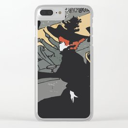 After Lautrec - Divan Japonais Clear iPhone Case