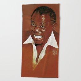 Louis Armstrong Beach Towel